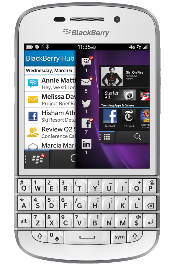 Blackberry Q10 reparatie