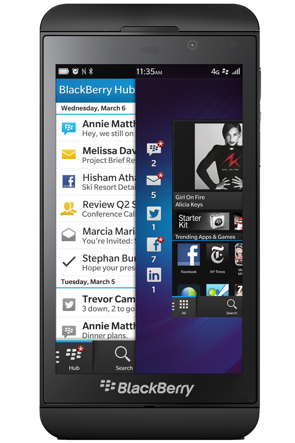Blackberry Z10 reparatie