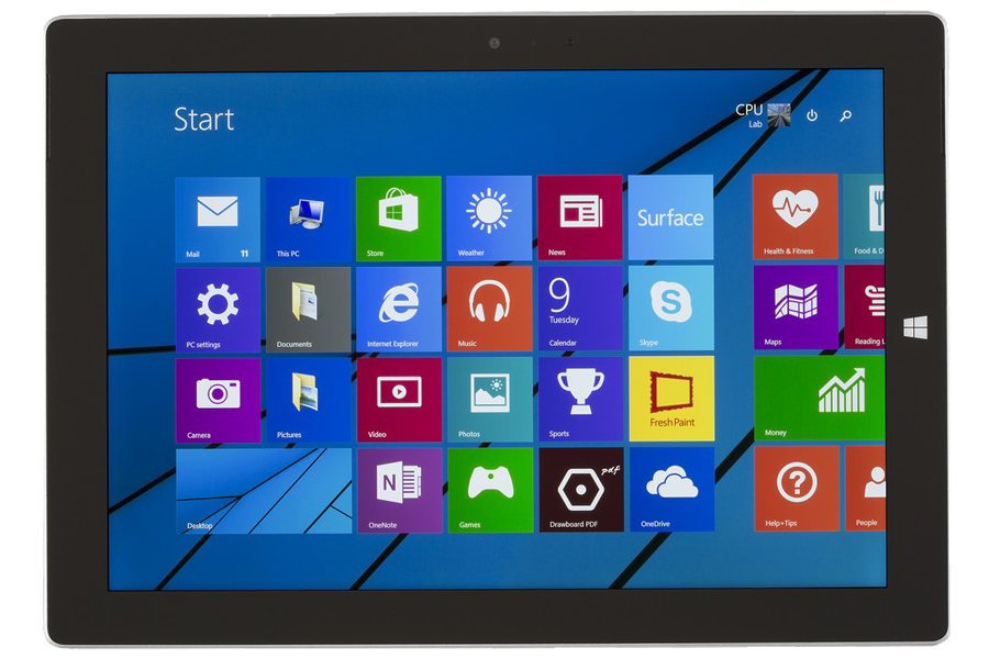 Microsoft Surface 3 reparatie (1645)